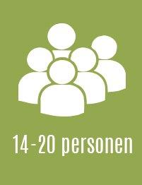 14 tot 20 personen vakantievilla